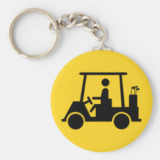 Golf Buggy Key Ring
