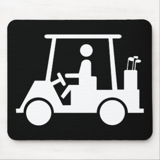 Golf Buggy Mouse Mat