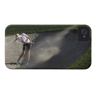 Golf bunker action Case-Mate iPhone 4 cases
