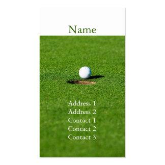 Golf business card