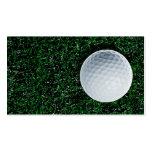 Golf business card design