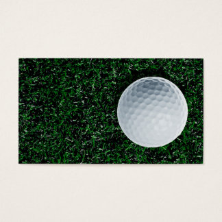 Golf business card design
