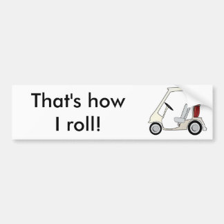 golf_cart bumper sticker
