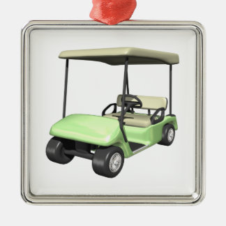 Golf Cart Christmas Ornament