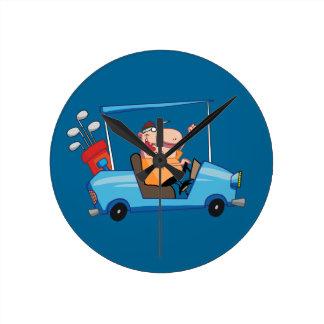golf cart driver clock