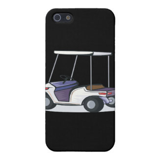golf cart graphic iPhone 5 case