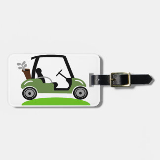 Golf Cart Luggage Tag
