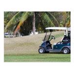 Golf Cart Postcard