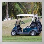 Golf Cart Poster