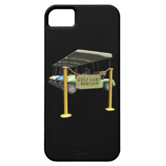 Golf Cart Rentals Case For The iPhone 5