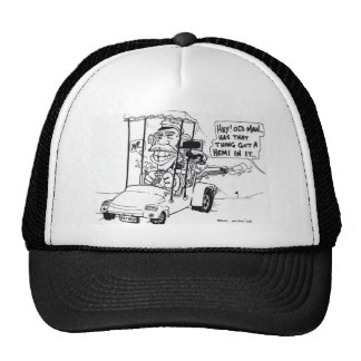 GOLF CARTOON TRUCKER HATS