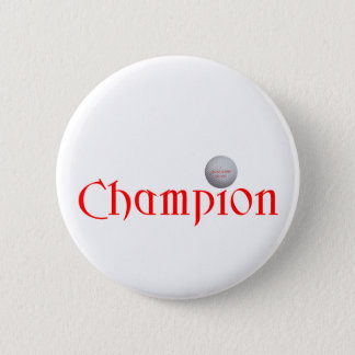 GOLF CHAMPION GIFT 6 CM ROUND BADGE