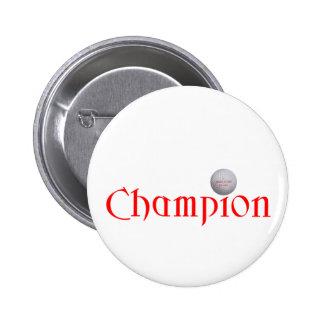 GOLF CHAMPION GIFT 6 CM ROUND BADGE
