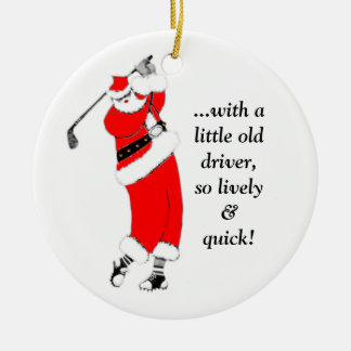 Golf Christmas Christmas Ornament