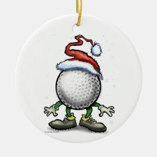 Golf Christmas Christmas Ornament