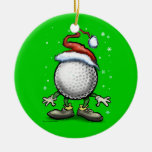 Golf Christmas Christmas Tree Ornament