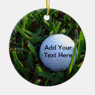 Golf Christmas Ornament