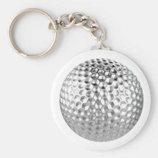 golf chrome key chain