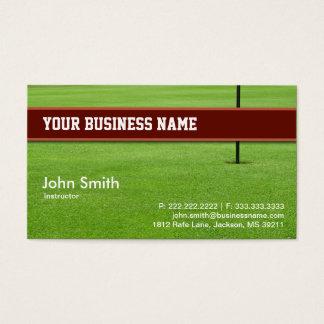 Golf Club business card