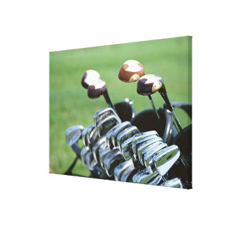 Golf Club Stretched Canvas Prints