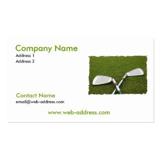 Golf Club Design Business Card