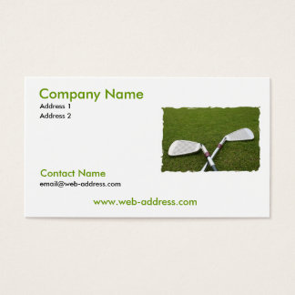 Golf Club Design Business Card