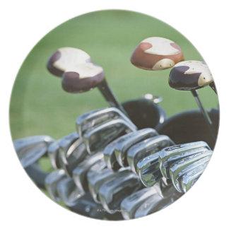 Golf Club Dinner Plate