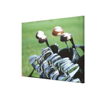 Golf Club Gallery Wrap Canvas