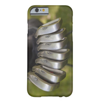 Golf club heads in a bag. Three through nine Barely There iPhone 6 Case