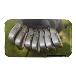Golf club heads in a bag. Three through nine iPhone 3 Cover