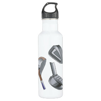 Golf Clubs 710 Ml Water Bottle