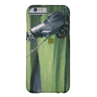 Golf clubs and golf bag barely there iPhone 6 case