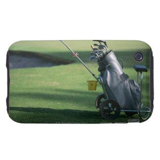 Golf clubs and golf bag iPhone 3 tough case