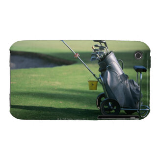 Golf clubs and golf bag iPhone 3 Case-Mate case