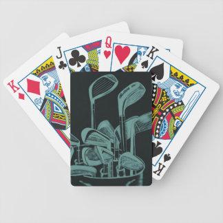 Golf Clubs Cards