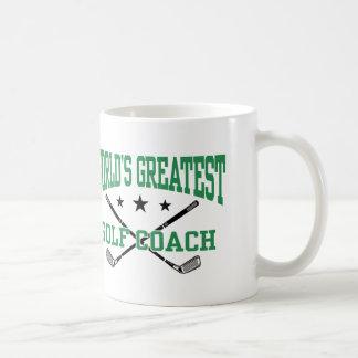 Golf Coach Coffee Mug