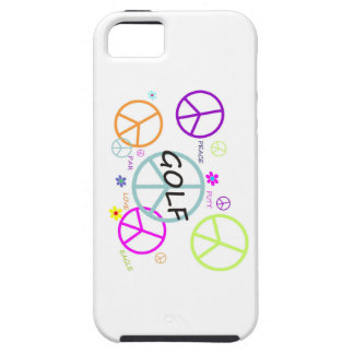 Golf Colored Peace Signs iPhone 5 Covers