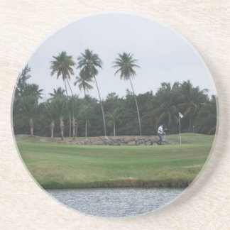 Golf Country Club Coaster
