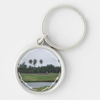 Golf Country Club Keychain