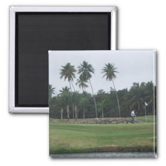 Golf Country Club Magnet