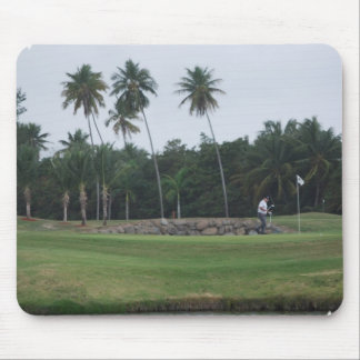 Golf Country Club Mouse Pad