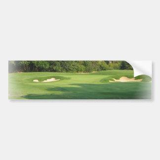 Golf Course Bumper Sticker