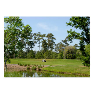 golf course business card templates