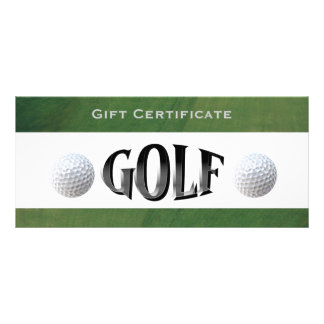 Golf Certificate Template Free Business Rack Cards
