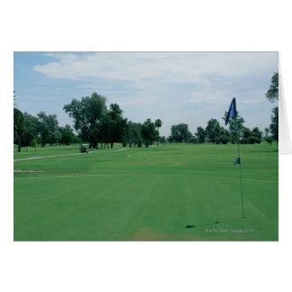 Golf Course Card