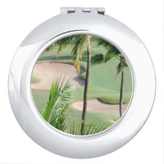 Golf Course Designs Makeup Mirrors