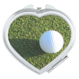 Golf Course Designs Makeup Mirror