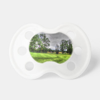 Golf Course Baby Pacifiers