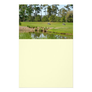 golf course florida 14 cm x 21.5 cm flyer