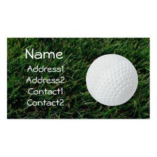 Golf Course Golf Ball Business Card